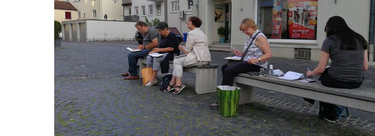 Dillingen – Urban Sketching